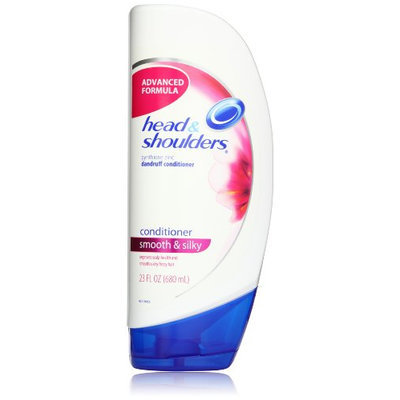 Head & Shoulders Smooth & Silky Dandruff Conditioner 23 Fl Oz (Pack of 2)