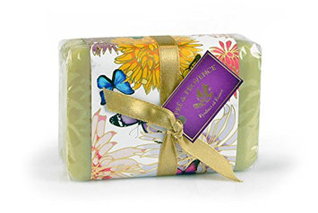 Pre de Provence Soap Shea Enriched Luxury Wrapped Everyday 250 Gram Extra Large French Soap Bar - Verbena