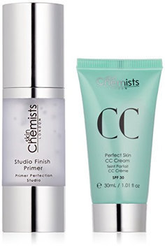 skinChemists Perfect Skin CC Light Cream with SPF 30 and Studio Finish Primer