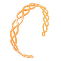 Uxcell Women Wave Holes Design Plastic Hair Hoop Hairband