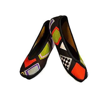 Nufoot Fuzzies Womens Shoes Ballet Flats