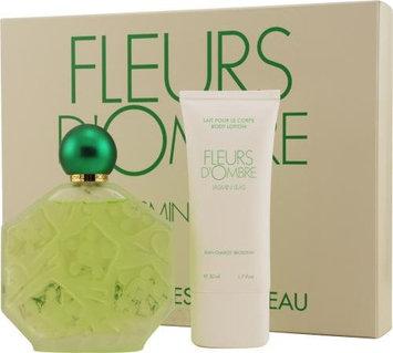 Fleurs D'ombre Jasmin Lilas by Jean Charles Brosseau for Women. Set-Eau De Toilette Spray 3.4-Ounces & Body Lotion 1.7-Ounces