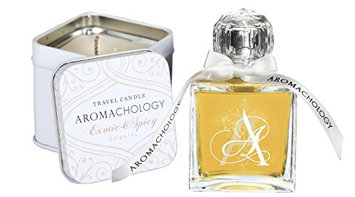 AROMACHOLOGY Eau de Parfum Spray and Candle Set