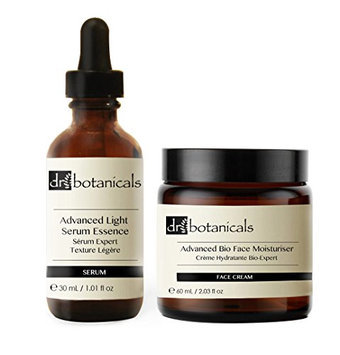Dr Botanicals Advanced Light Facial Serum Essence Plus Advanced Bio Face Moisturizer