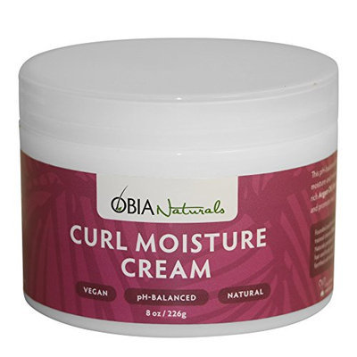 Leave In Conditioner For Curly Hair - Curl Moisture Cream - 8oz