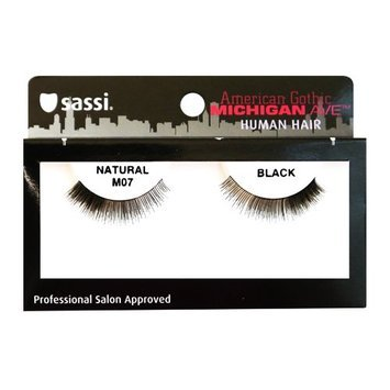 Sassi 804-M07 Michigan Ave 100% Human Hair Natural Eyelashes