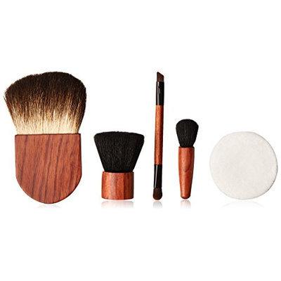 ON&OFF Make-Up Sponge Duo Eye Brush Flat Top Buki Flawless Finisher and Mini Definer