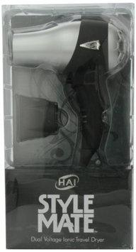 Hai Stylemate Mini Travel Hair Dryer - Black