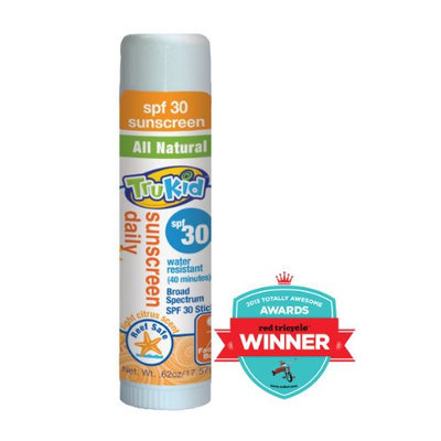 TruKid Sunny Days SPF 30 Plus Water-Resistant Sunscreen Stick