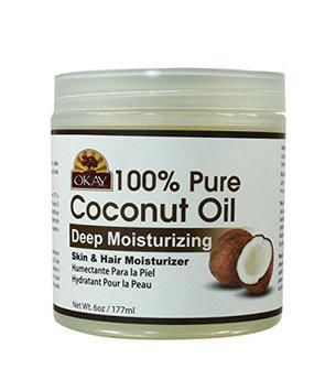 Okay Coconut Oil for Hair and Skin in Jar