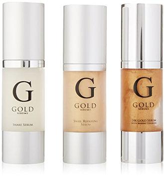 Gold Serums Bag Set 24k with Marine Collagen
