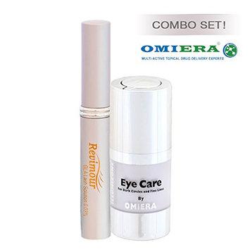 Dark Circles Under Eyes Treatment Serum + Eyelash Growth Serum