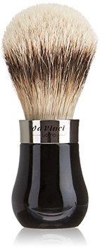 Da Vinci Series 293 Uomo Shaving Brush Silvertip Badger Hair Bead Handle