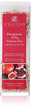 Cuccio Pomegranate and Fig Pedicure Fizz Tablets