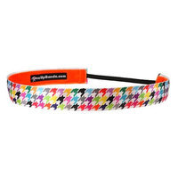 One Up Bands Hounds Tooth Non-Slip Headband