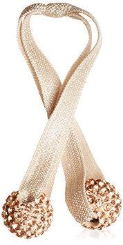 Emi Jay Crystal Duet Skinny Hair Tie