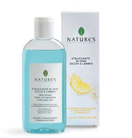 Nature's Two-Phase Makeup Remover for Eyes and Lips