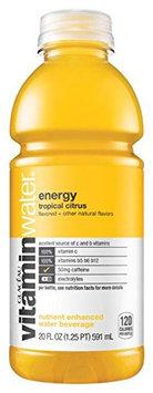 vitaminwater Nutrient Enhanced Water Beverage Energy Tropical Citrus