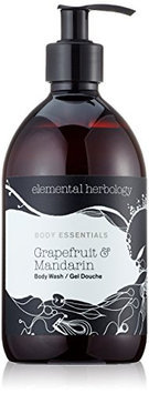 elemental herbology Grapefruit & Mandarin Body Wash
