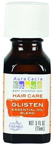 Aura Cacia Glisten Hair Care Essential Oil Blend
