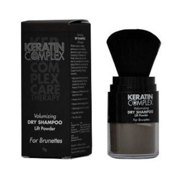 Keratin Complex Volumizing Dry Shampoo Lift Powder Brunettes for Unisex