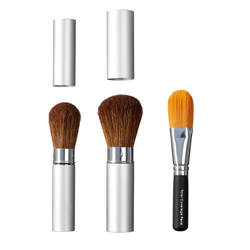 ON&OFF Trio Take Along Face and Total Coverage Face Brush