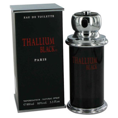 Thallium Black for Men by Yves De Sistelle 3.3 oz EDT SP