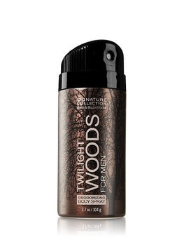 Bath & Body Works® Signature Collection TWILIGHT WOODS FOR MEN Deodorizing Body Spray
