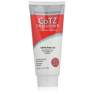 Cotz Spf 40 UVB/UVA Sunscreen for Sensitive Skin