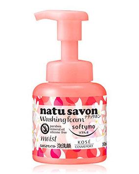 KOSE Softy Mo Natu Savon Foam Wash Moist