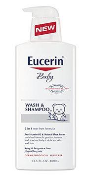 Eucerin Baby Wash and Shampoo