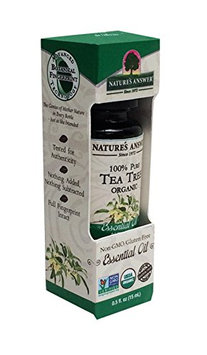 Nature's Answer 100 Percent Pure Organic Tea Tree Essential Oil