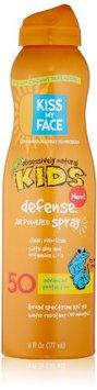 Kiss My Face Kids Defense Continuous Spray Natural Sunscreen SPF 50 Sunblock