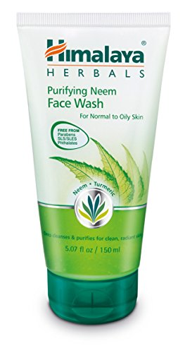 Himalaya Herbal Healthcare Purifying Neem Face Wash for Mild Acne
