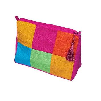 Harry D Koenig & Co Cosmetic Bag In Shantung Silk