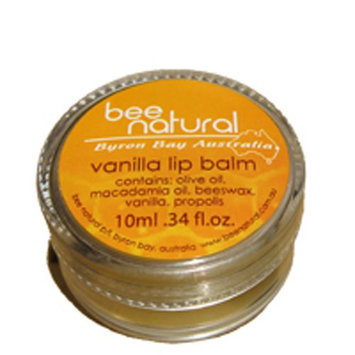 Bee Natural Byron Bay Australia Vanilla Lip Balm