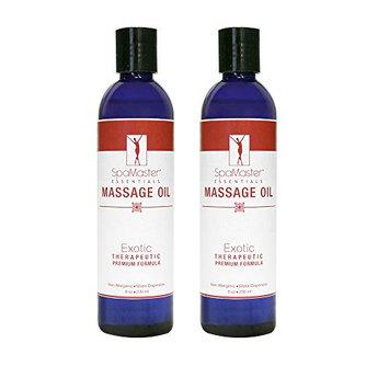 Master Massage Spamaster Essentials Exotic Massage oil