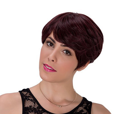 Generic Short Wavy Synthetic Hair Wig