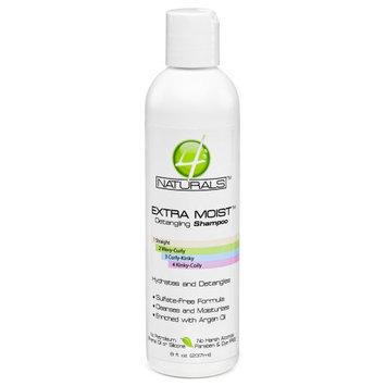 4 Naturals Extra Moist Detangling Shampoo