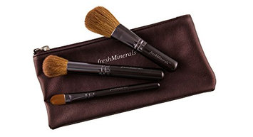 FreshMinerals Brushes and Cosmetic Bag