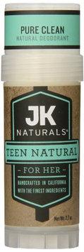 JK Naturals Natural Deodorant Teen Natural for Her