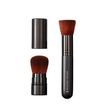 Makeover Vegan Love Retractable Buki and Jumbo Flat Top Brush