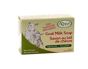 Alpen Secrets Fragrance Free Goat Milk Soap