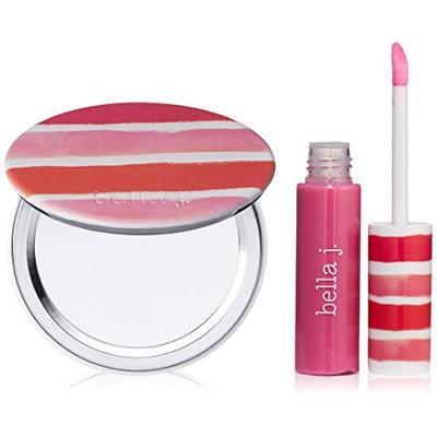 bella j. Lip Gloss and Pocket Mirror Set