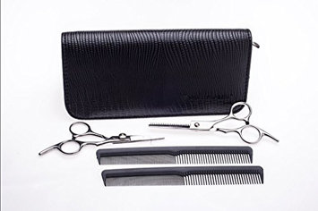 4.5 Inch Shears set with 2 multi purpose Combs