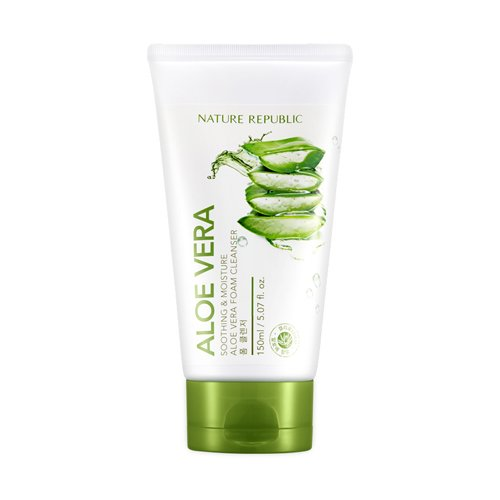 Nature Republic New Soothing & Moisture Aloe Vera Foam Cleanser