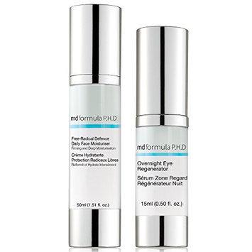 Skin Pharmacy Free Radical Defence Daily Moisturiser and Overnight Eye Regenerator