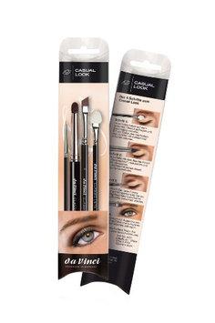 Da Vinci Casual Look Brush Set with Eyeliner