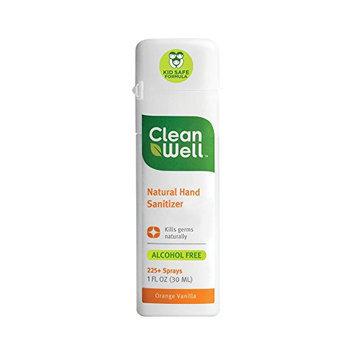 Natural Hand Sanitizer Spray Orange Vanilla Scent