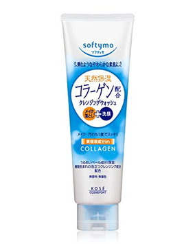 KOSE Softy Mo Collagen Makeup Cleansing and Facial Foam